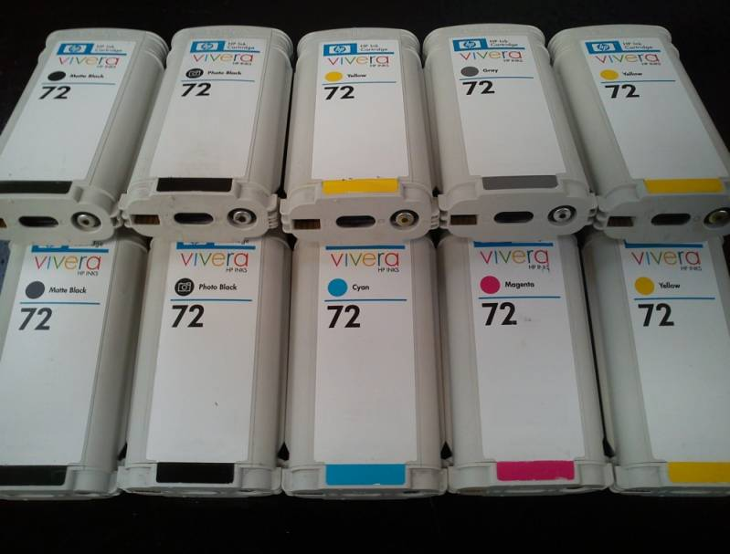 Cartucho para Plotter Hp 110 Plus