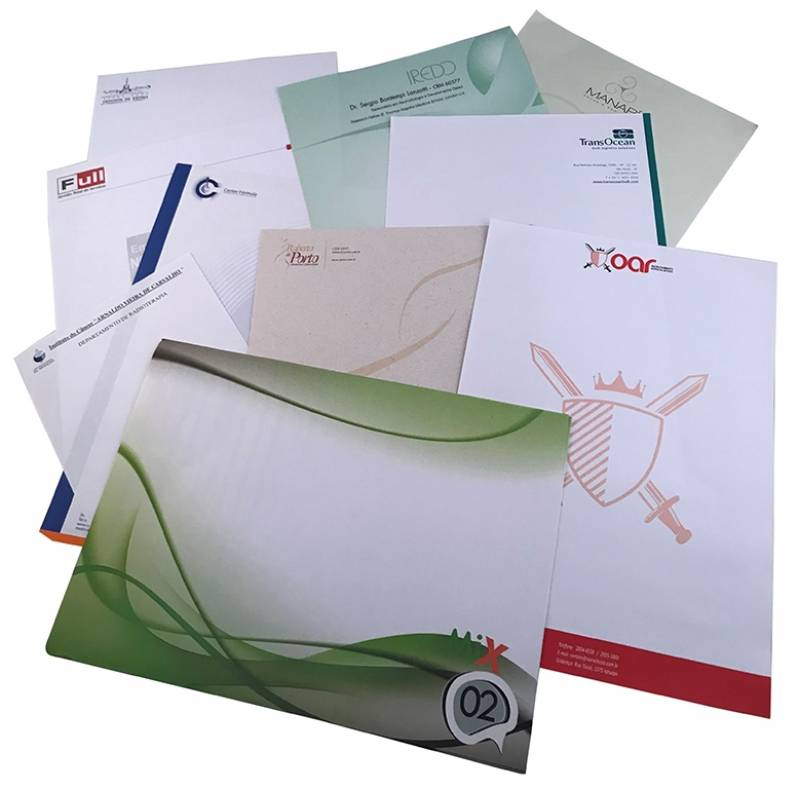 Papel Carta com Logotipo
