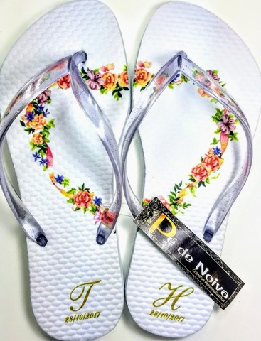 Chinelo Customizado para Debutante
